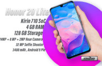 Honor 20 Lite with Kirin 710 and triple camera launched in Nepal