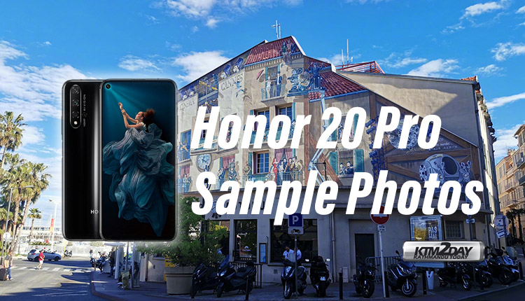 Honor 20 Pro Sample Photos