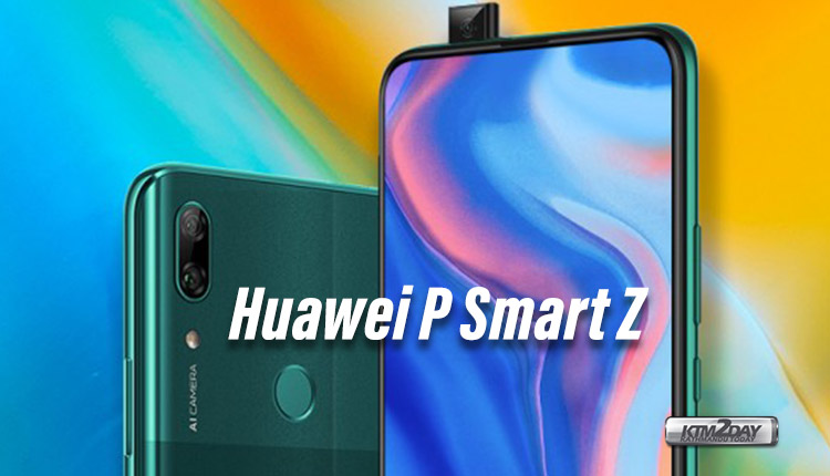 Huawei P Smart Z launched