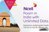 Ncell brings 'Unlimited Roaming Data Pack' for India visitors