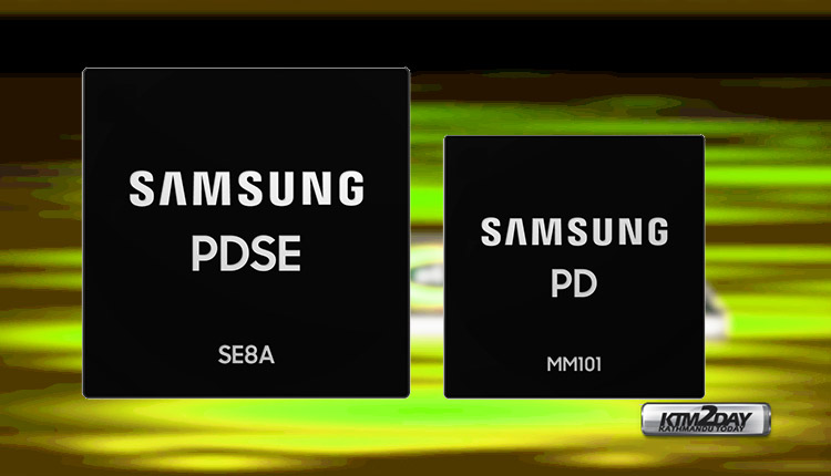 Samsung 100W fast charging chips