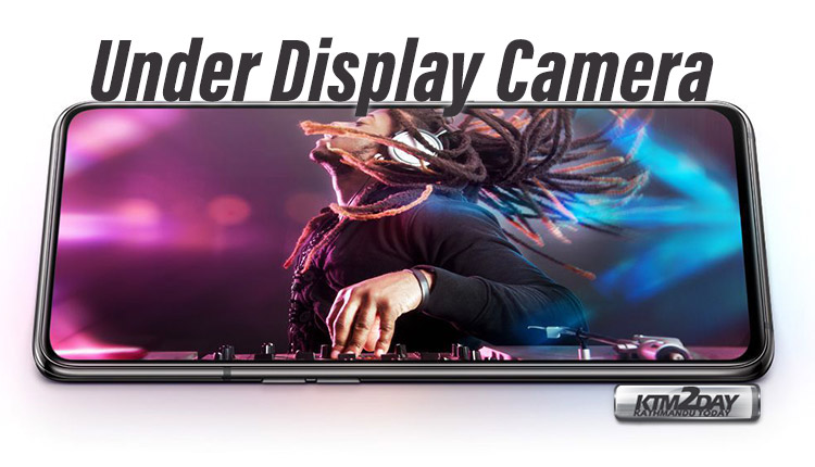 Samsung-under-display-camera