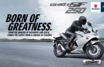 Suzuki Gixxer 250 SF, a sport touring motorcycle launched