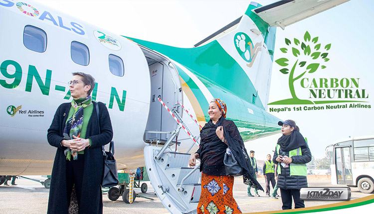Yeti Airlines Carbon Neutral