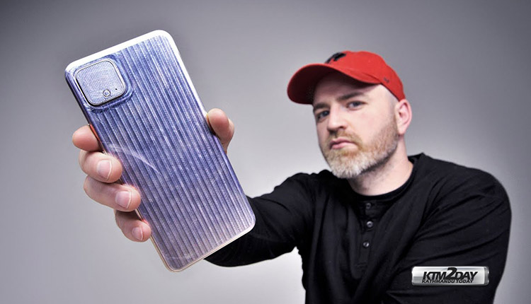 Google Pixel 4 UnboxTherapy
