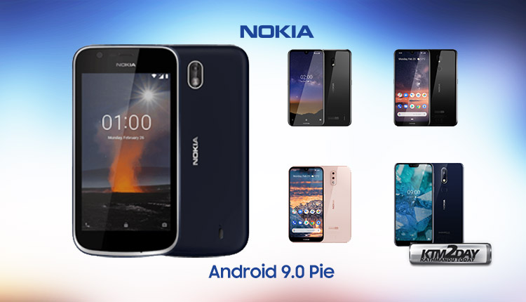 Nokia Android Pie Updated