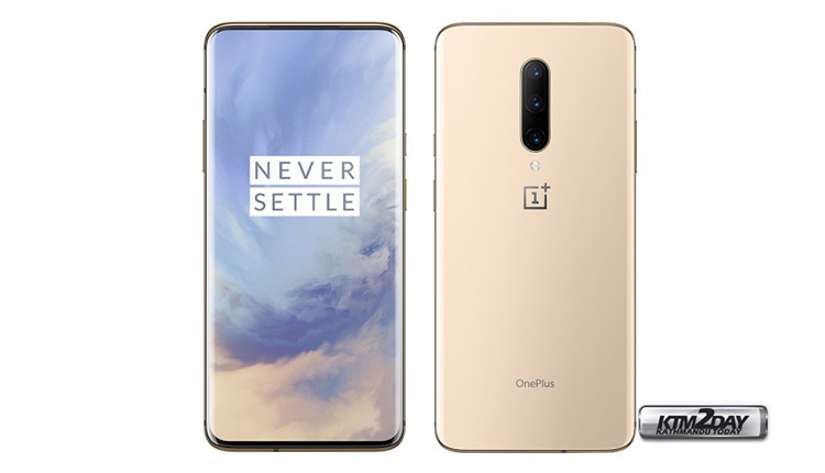 OnePlus 7 Pro Almond color