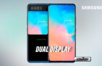 Samsung patents dual display smartphone design