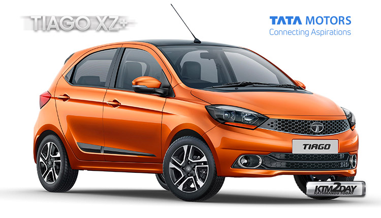 TATA Tiago XZ plus price nepal