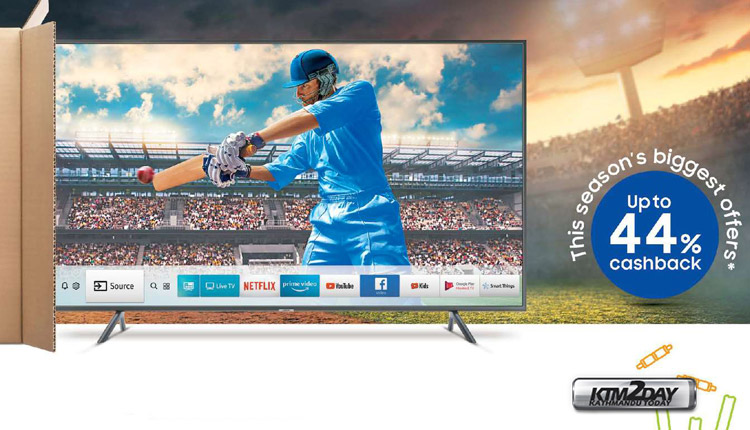 Television sales boost