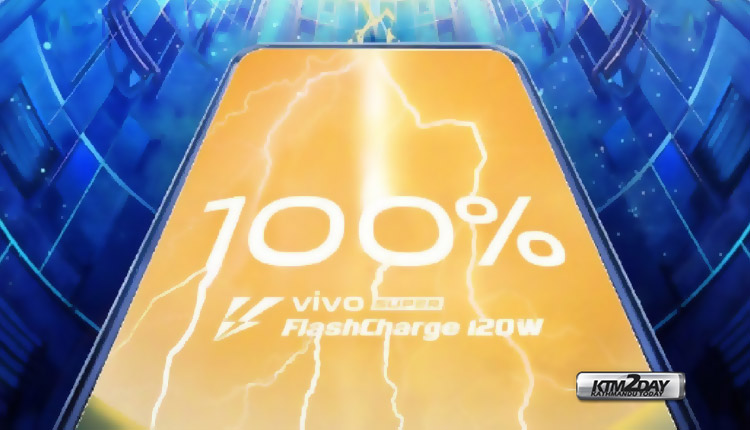 Vivo 120W Super FlashCharge technology