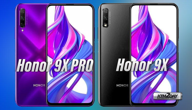 Honor 9X Pro and Honor 9X