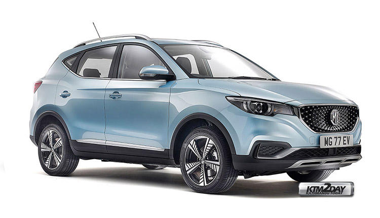 MG GS EV price nepal