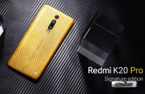 Redmi K20 Pro Signature Edition draped in gold unveiled
