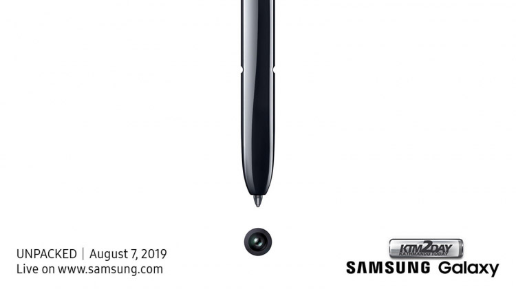 Samsung Galaxy Unpacked Event August 2019