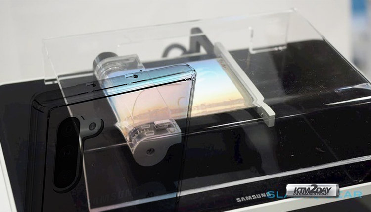 Sony rollable display smartphone