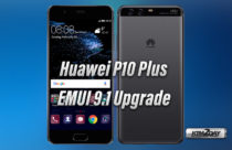 Huawei P10 Plus receives EMUI 9.1 upgrade