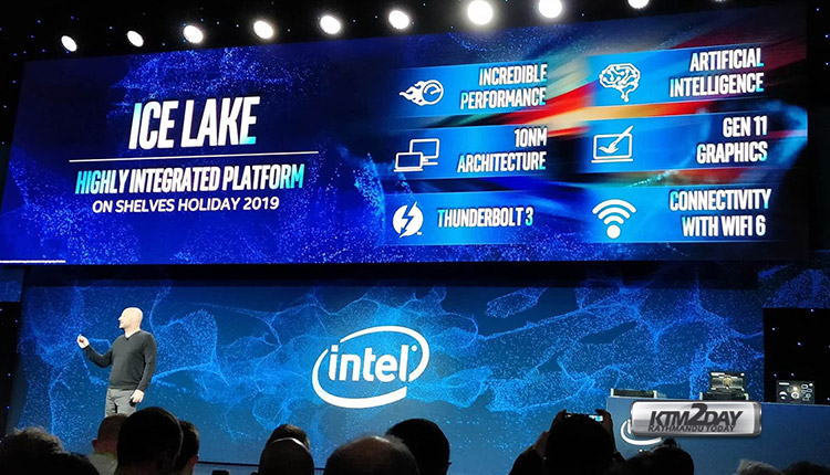 Intel Ice Lake CPU launched