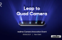 Realme to showcase its 64 MP camera in a quad setup on Aug 8