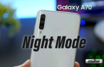 Samsung releases Night-mode for Galaxy A70 along with July security patch