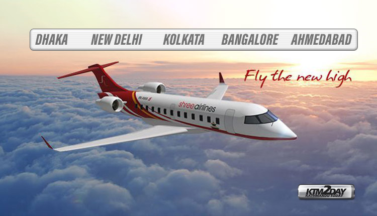 Shree Airlines India Dhaka flight