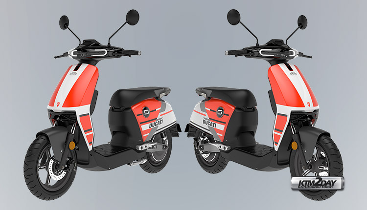 Super Soco limited edition CUx Ducati edition