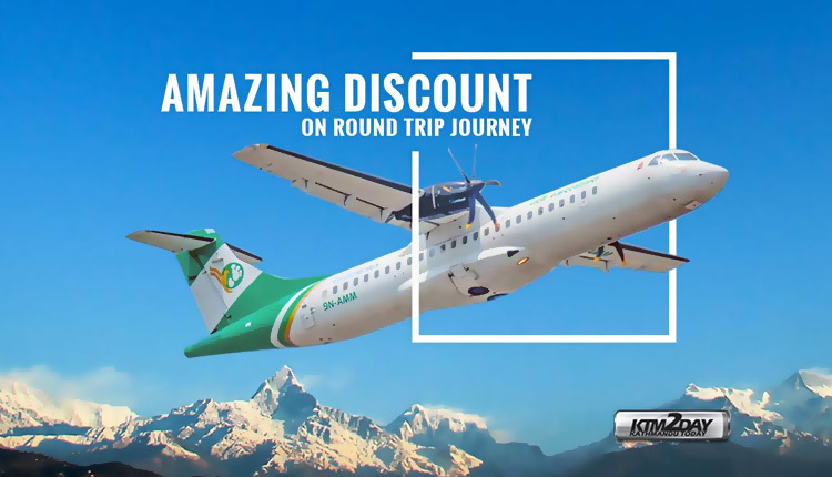 Airlines Festive Discount Nepal