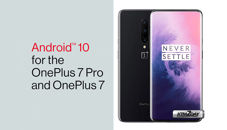 Android 10 Oneplus 7 Pro