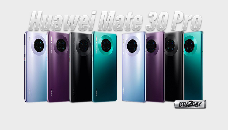 Huawei Mate 30 Pro Live Pictures