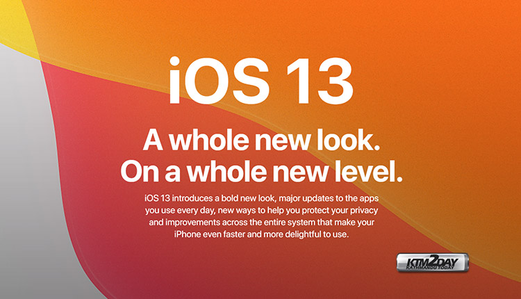 iOS 13 Launch