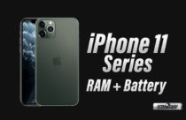 iPhone 11 Series - RAM and Battery Capacity Revealed