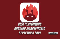 Antutu Top 10 Best Performing Smartphones of Sept 2019