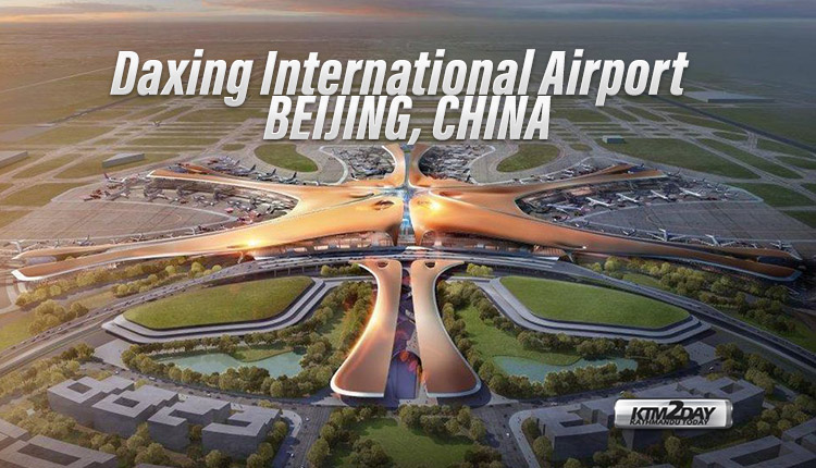 Daxing International Airport Beijing China