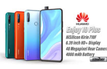 Huawei Enjoy 10 Plus launched with Kirin 710F and 48 MP camera