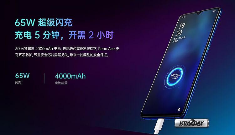 Oppo-Reno-Ace-Charging