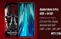 Redmi Note 8 Pro Terminator Edition Launched