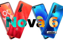 Huawei Nova 6 will feature 60MP camera and 40W Magic Charging