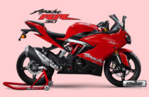 TVS Apache RR310 rolled out in Nepali market