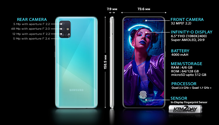 Galaxy A51 Specification