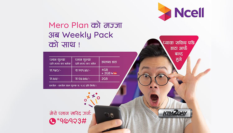 Ncell Weekly Mero Plan