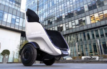 Segway reveals S-Pod, a self driving chair on wheels
