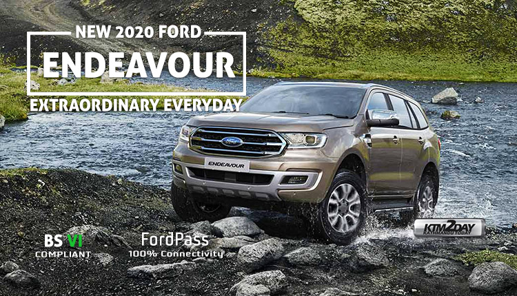 2020 Ford Endeavour Price Nepal