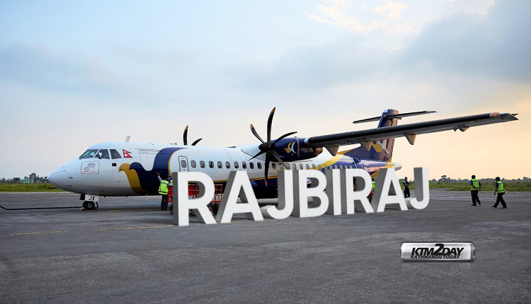 Buddha-Air-Rajbiraj-Flight