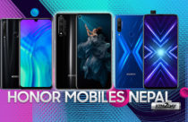 Honor Mobiles Price in Nepal 2020