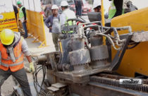 NEA starts laying underground cables in KTM