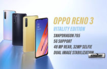Oppo Reno 3 Vitality Edition launched with SD765 and 5G support