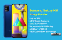 Samsung Galaxy M31 with Exynos 9611 and 6000 mAh battery launched