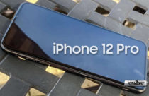 Real iPhone 12 Pro without bangs. First live photos