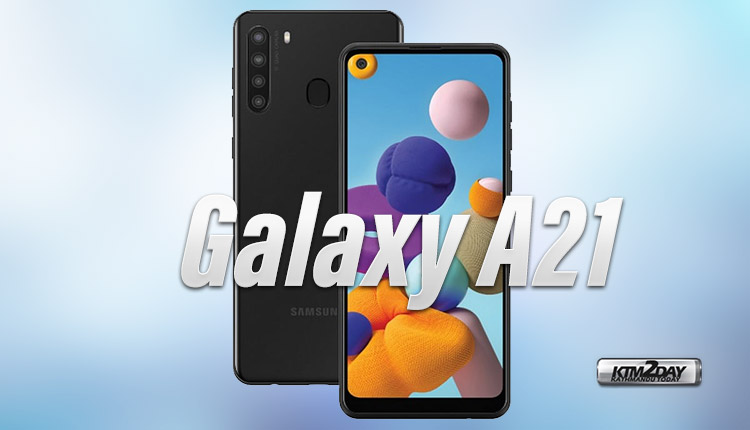 Samsung Galaxy A21 Price in Nepal