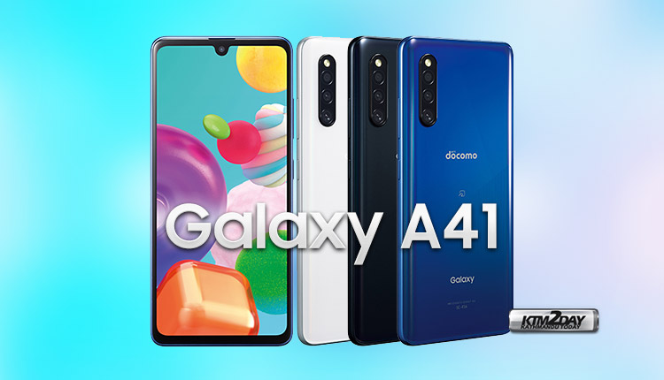 Samsung Galaxy A41 Price in Nepal